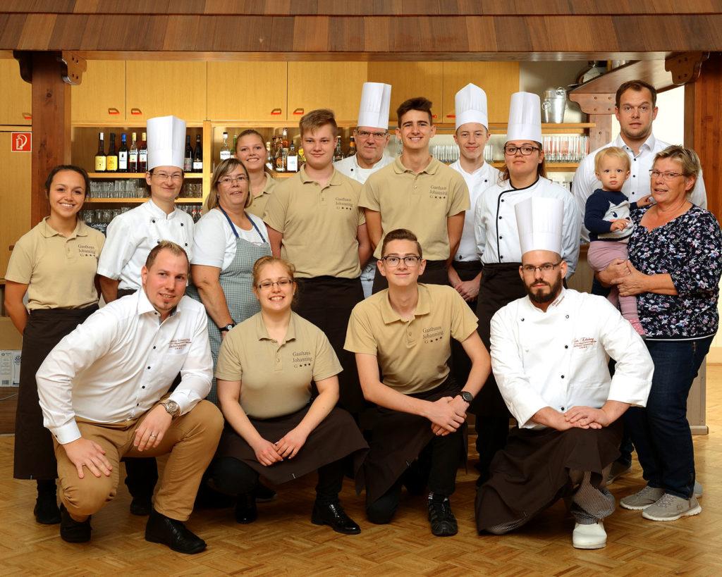 Gasthaus Johanning Team freut sich auf Sie in Uslar Solling & Weserbergland zu begrüßen
