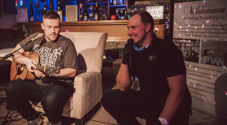Konzert geht im Netz ab Gasthaus Johanning traf mit virtueller Show Nerv der Gäste