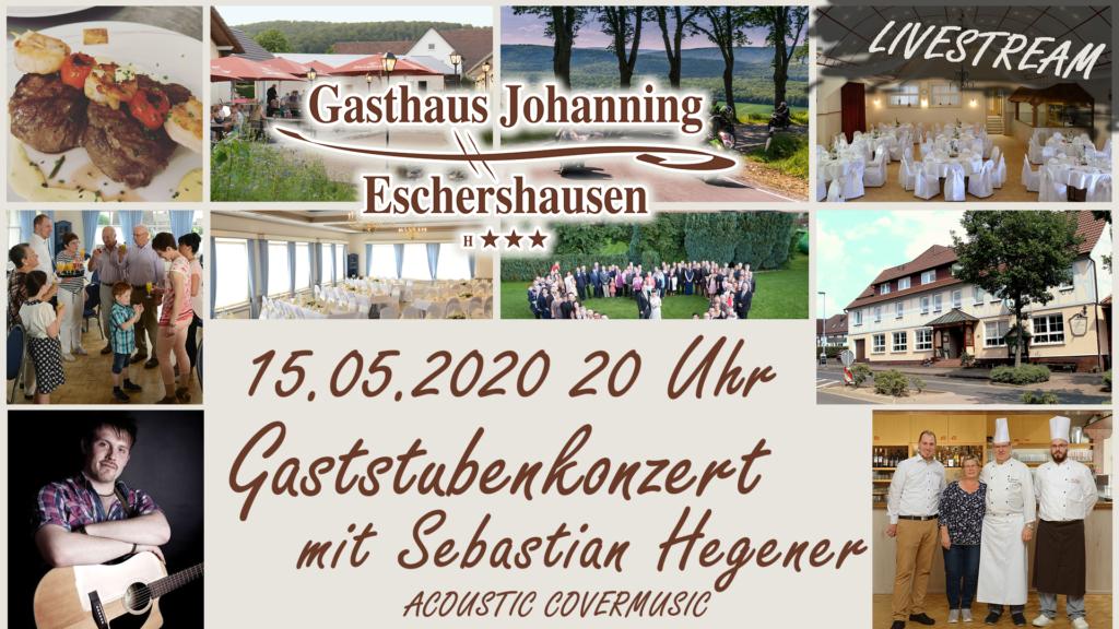 15.05.2020 Gaststubenkonzert mit Sebastian Hegener