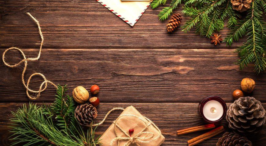 Speisekarte zur Weihnachten 2020