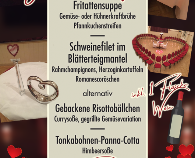 Valentinstag Spezial Restaurant Uslar